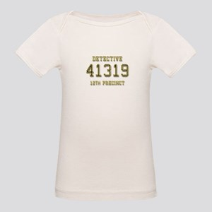 Badge Number Organic Baby T-Shirt