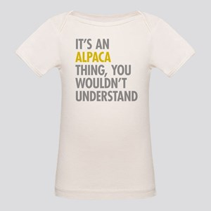 Its An Alpaca Thing Organic Baby T-Shirt