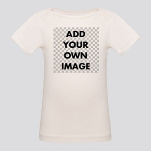 Custom Add Image Organic Baby T-Shirt