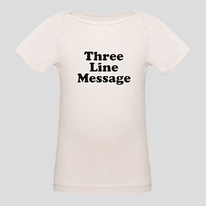 Big Three Line Message T-Shirt