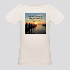 HEBREWS 11:1 Organic Baby T-Shirt