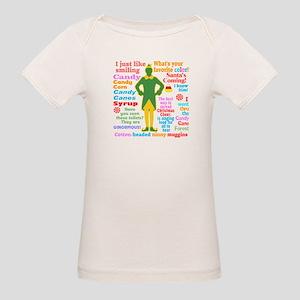 Elf Movie Quotes Organic Baby T-Shirt