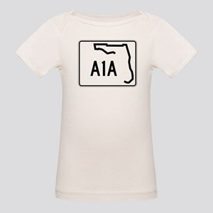 Route A1A, Florida Organic Baby T-Shirt