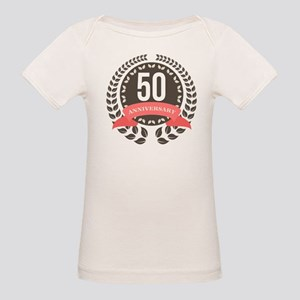 50 Years Anniversary Laurel B Organic Baby T-Shirt
