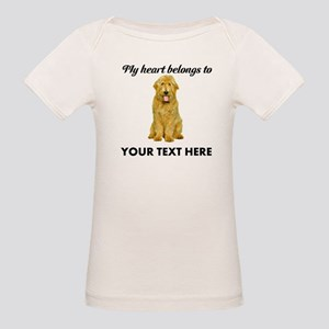 Personalized Goldendoodle Organic Baby T-Shirt