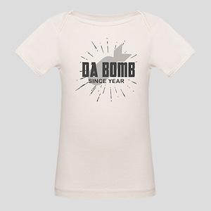 Personalized Birthday The Da Organic Baby T-Shirt