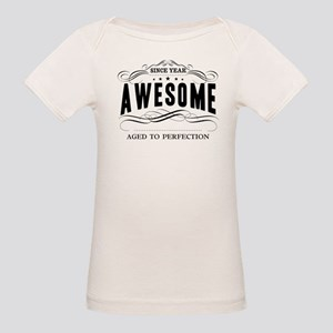 Personalized Birthday Aged To Organic Baby T-Shirt