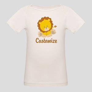 Custom Baby Lion Organic Baby T-Shirt