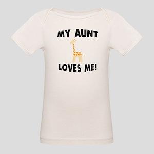 My Aunt Loves Me Giraffe T-Shirt