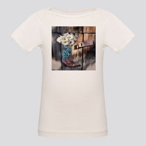 rustic daisy western country cowgirl T-Shirt