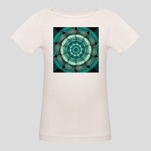 Radial dark turquoise T-Shirt