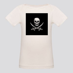 Glassy Skull and Cross Swords T-Shirt