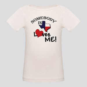Somebody in Texas Loves Me Ash Grey T-Shirt