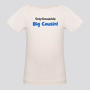 Big Cousin (Only Grandchild) Organic Baby T-Shirt