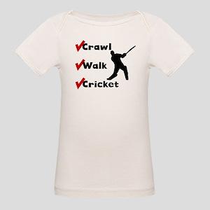 Crawl Walk Cricket T-Shirt