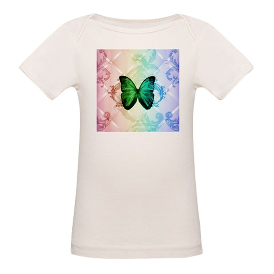 cute hipster girly butterfly