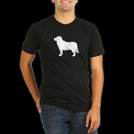 Bernese Mountain Dog Organic Men's Fitted T-Shirt