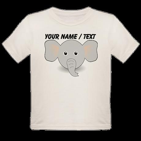 Custom Cute Elephant T-Shirt