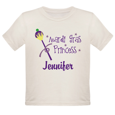 Mardi Gras Princess Personalized T-Shirt
