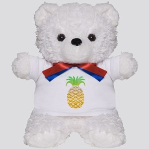 Colorful Pineapple Teddy Bear