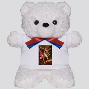Archangel Michael Defeating Satan Teddy Bear