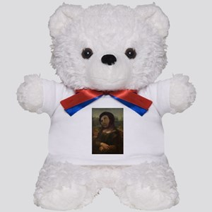 restored Mona Lisa Teddy Bear