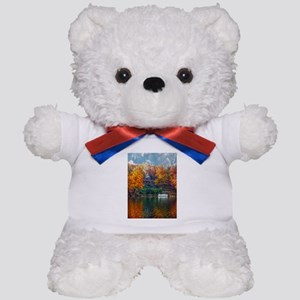 House on the Lake Teddy Bear