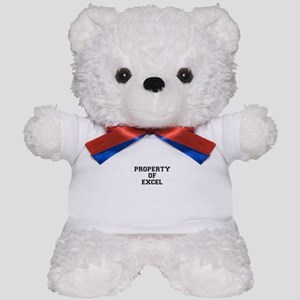 Property of EXCEL Teddy Bear