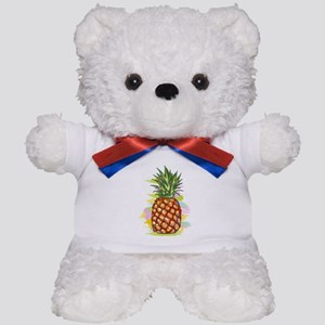 Cute PineApple Illustration Teddy Bear