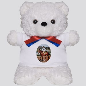 Exceller and Shoemaker Teddy Bear
