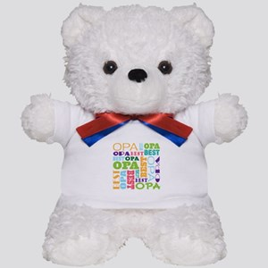 Best Opa Gift Teddy Bear
