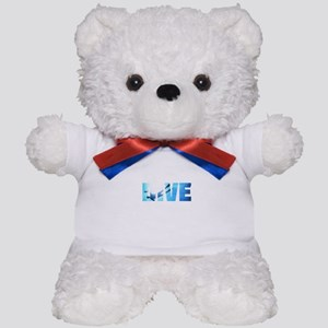 Scuba Diving: Divers Shadow Deep Swim t Teddy Bear