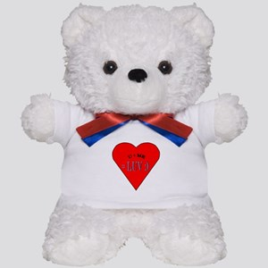 U + Me = Luv Teddy Bear