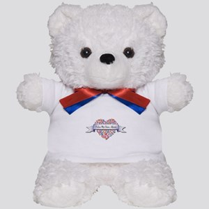 Love My Claims Adjuster Teddy Bear