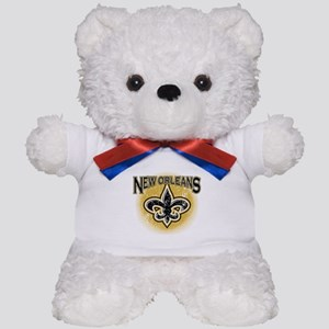 New Orleans Team Teddy Bear