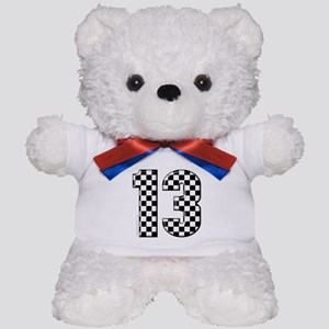 motorsport #13 Teddy Bear