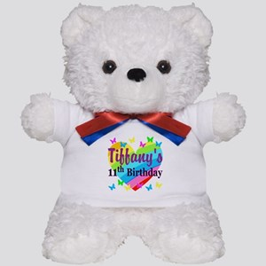 PERSONALIZED 11TH Teddy Bear