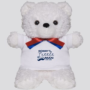 Custom Mommy's Little Man Teddy Bear