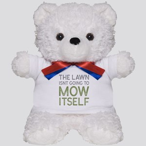 Mow The Lawn Teddy Bear