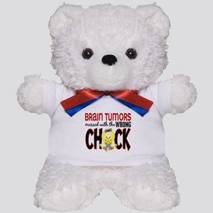 Brain Tumors Messed With Wrong Chick Teddy Bear