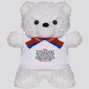 Change Quote Greys Teddy Bear