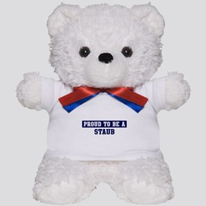 Proud to be Staub Teddy Bear
