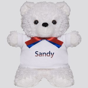 Sandy Stars and Stripes Teddy Bear