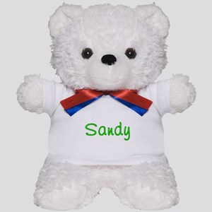 Sandy Glitter Gel Teddy Bear