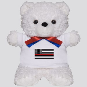 Thin Red Line - American United States Teddy Bear