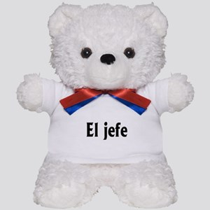 El jefe (The Boss) Teddy Bear