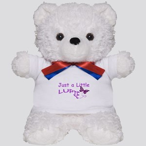 A Little Lupie Teddy Bear