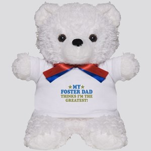 Greatest Foster Dad Teddy Bear