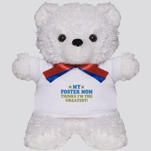 Greatst Foster Mom Teddy Bear