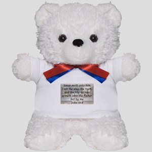 John 14:6 Teddy Bear